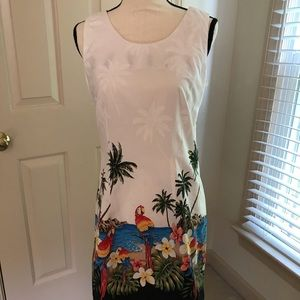 Pacific Legend parrot sundress